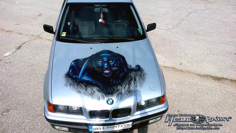 Пантера на кола