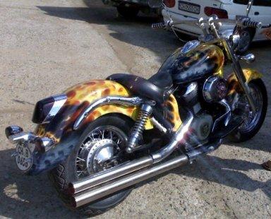 Grim Reaper Ride Motorcycle.