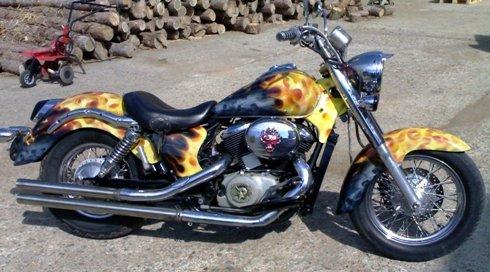 Пламъци на Чопър-Chopper