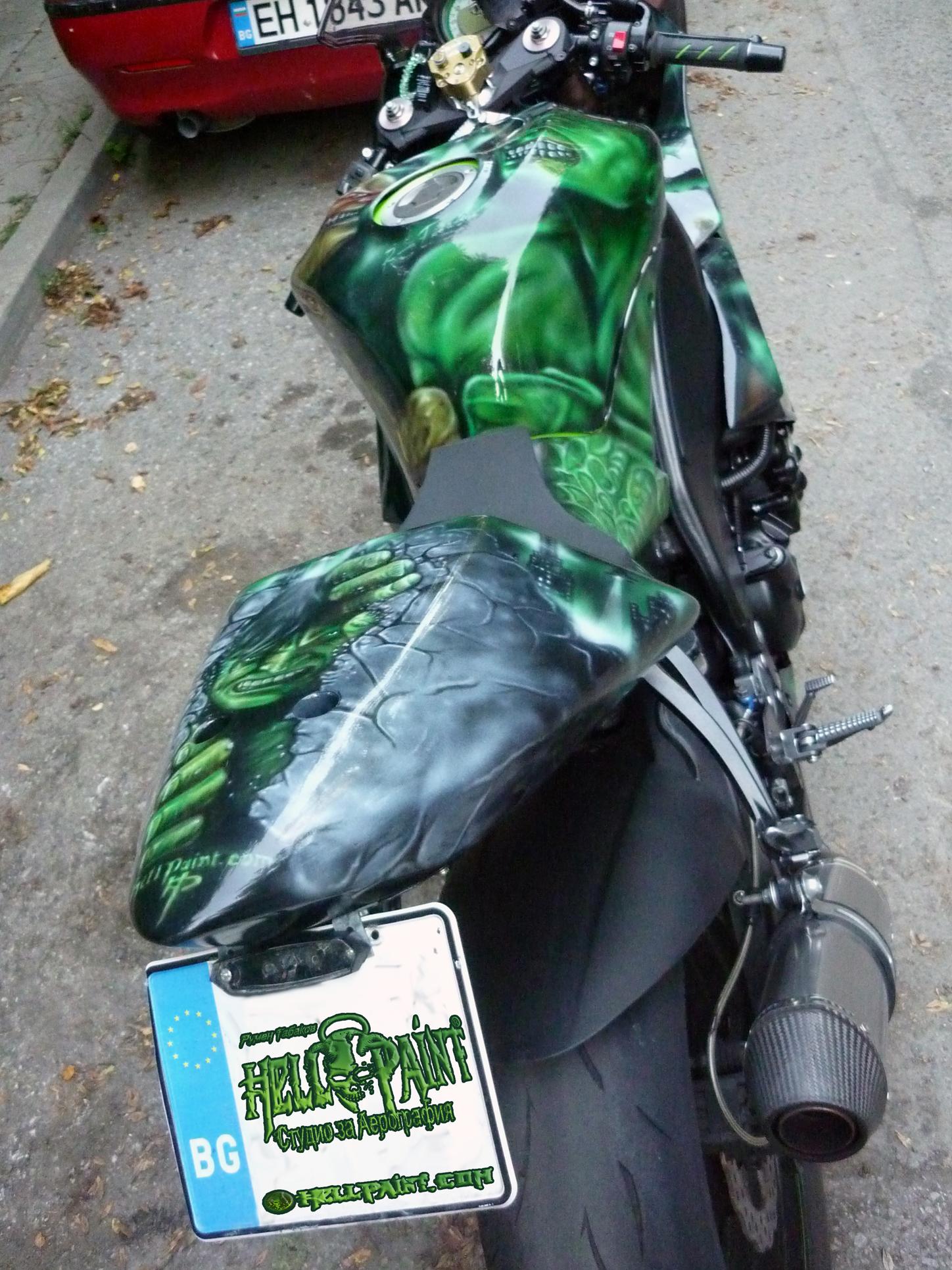 Hulk Bike
